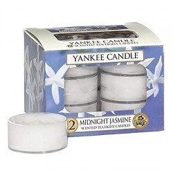 Yankee Candle Tea Light 12 pcs Midnight Jasmine