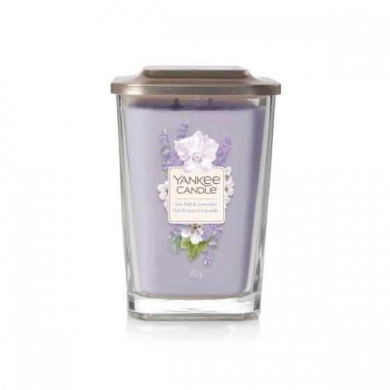 Sea Salt & Lavender- Yankee Candle Elevation - duża świeca zapachowa