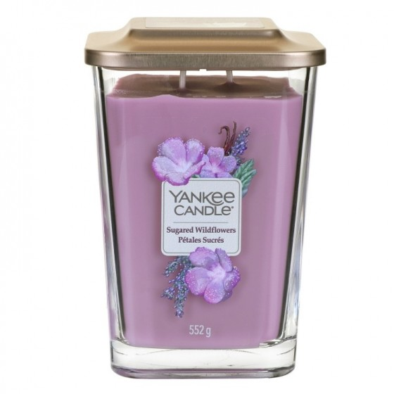 Sugared Wildflower- Yankee Candle Elevation - duża świeca zapachowa