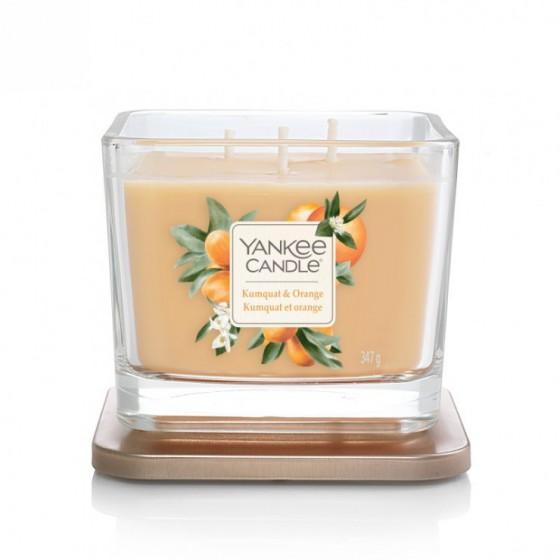 Kumquat & Orange- Yankee Candle Elevation - średnia świeca zapachowa