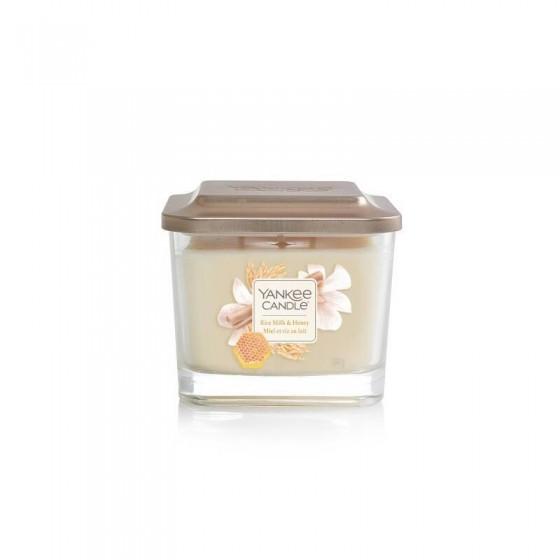 Rice Milk & Honey- Yankee Candle Elevation - średnia świeca zapachowa