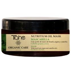 TAHE ORGANIC CARE - NUTRITIUM OIL MASK - Maska odżywiająca do włosów grubych i suchych 300 ml