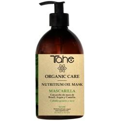 TAHE ORGANIC CARE - NUTRITIUM OIL MASK - Maska odżywiająca do włosów grubych i suchych 500 ml