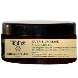 TAHE ORGANIC CARE - NUTRITIUM MASK - Maska odżywiająca do włosów cienkich i suchych 300 ml