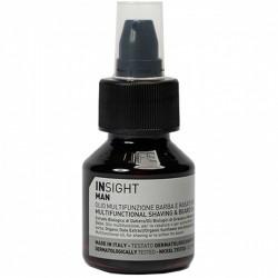 MULTIFUNCTIONAL BEARD & SHAVING OIL – Multifunkcyjny olejek do golenia i pielęgnacji brody 50ml INSIGHT MAN