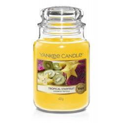Yankee Candle Tropical Starfruit Duża Świeca Zapachowa 623g