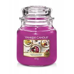 Yankee Candle Exotio Acai Bowl Średnia Świeca Zapachowa 411g