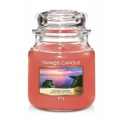 Yankee Candle Cliffside Sunrise Średnia Świeca Zapachowa 411g