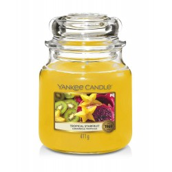 Yankee Candle Tropical Starfruit Średnia Świeca Zapachowa 411g