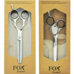 """Fox Student Zestaw Nożyczki + degażówki 5,5"""""""