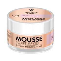 VICTORIA VYNN Mousse Sculpture Gel 04 – Berry Blush 50 ml