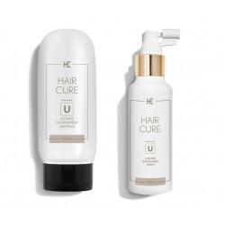 Hair Cure Ultimate Serum i Szampon, Stymulujące Wzrost Nowych Włosów, Przeciw Wypadaniu 200mol, 150ml