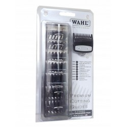 Wahl Premium Cuting Guides Komplet nasadek do maszynek TAPER, MAGIC CLIP, ICON, LEGEND, BALDING (3,6,10,13,16,19,22,25 mm)M