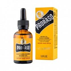 PRORASO WOOD AND SPICE BEARD OIL OLEJEK DO BRODY 30 ML