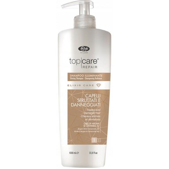 Szampon Lisap TopCare Elixir rozświetlający do włosów matowych i zniszczonych 1000ml