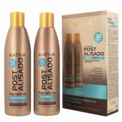 Kativa Post 2 Zestaw po kuracji szampon + odżywka 2x250ml