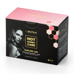 Elchim, kapsułki wygładzające z olejkiem Hot Honey Care Sublime Liss, 12szt