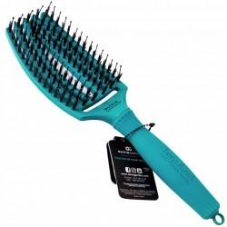 Olivia Garden Finger Brush Combo Medium Tropical , Szczotka do Rozczesywania Włosów i Masażu, Włosie Dzika, Tropical Ocean