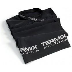 Peleryna Termix Evolution fryzjerska czarna