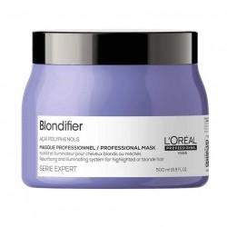 LOREAL Blondifier Mask Odżywiająca i Rozświetlająca Maska do Włosów Blond 500ml